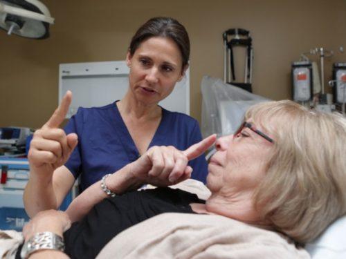 диагностика инсульта у пожилых женщин