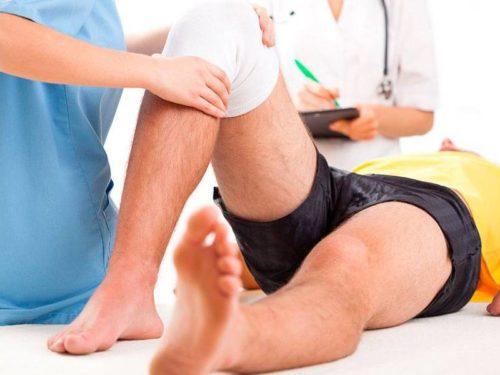 терапия коленного сустава после травмирования